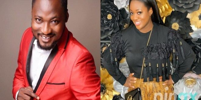 JACKIE APPIAH AND FUNNY FACE IN LOVE