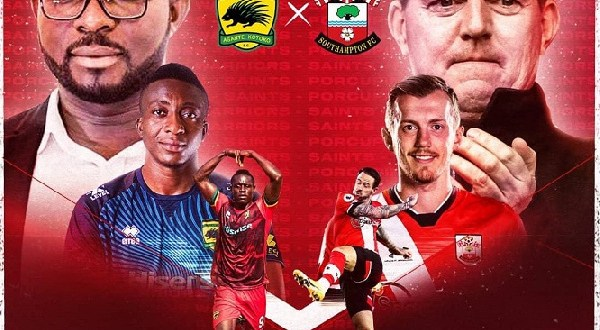 Southampton confirms partnership deal with Asante Kotoko