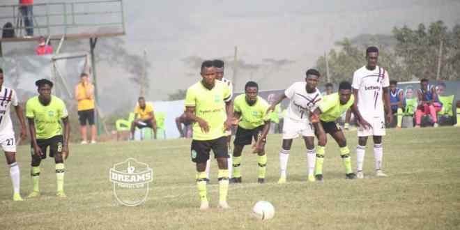 GPLwk10: Dreams thump Liberty, Berekum Chelsea hold Hearts of Oak