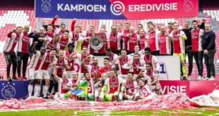 Dutch Eredivisie title with Ajax