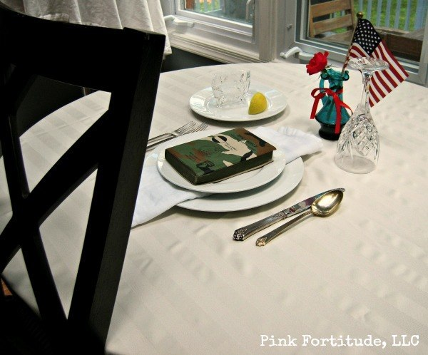 POW MIA Missing Man Table Setting by coconutheadsurvivalguide.com & Missing Man Table - Pink Fortitude LLC