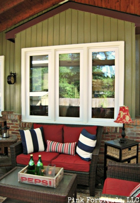 Relaxing Porch Oasis Transformation by coconutheadsurvivalguide.com