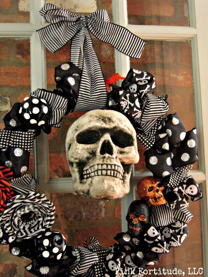 Today we will be hanging out with Mr. Boo. Follow along for a quick and easy tutorial for this Halloween wreath DIY.