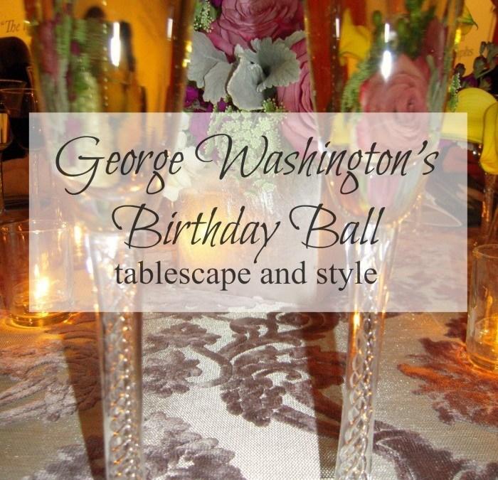 George Washington's Birthday Ball