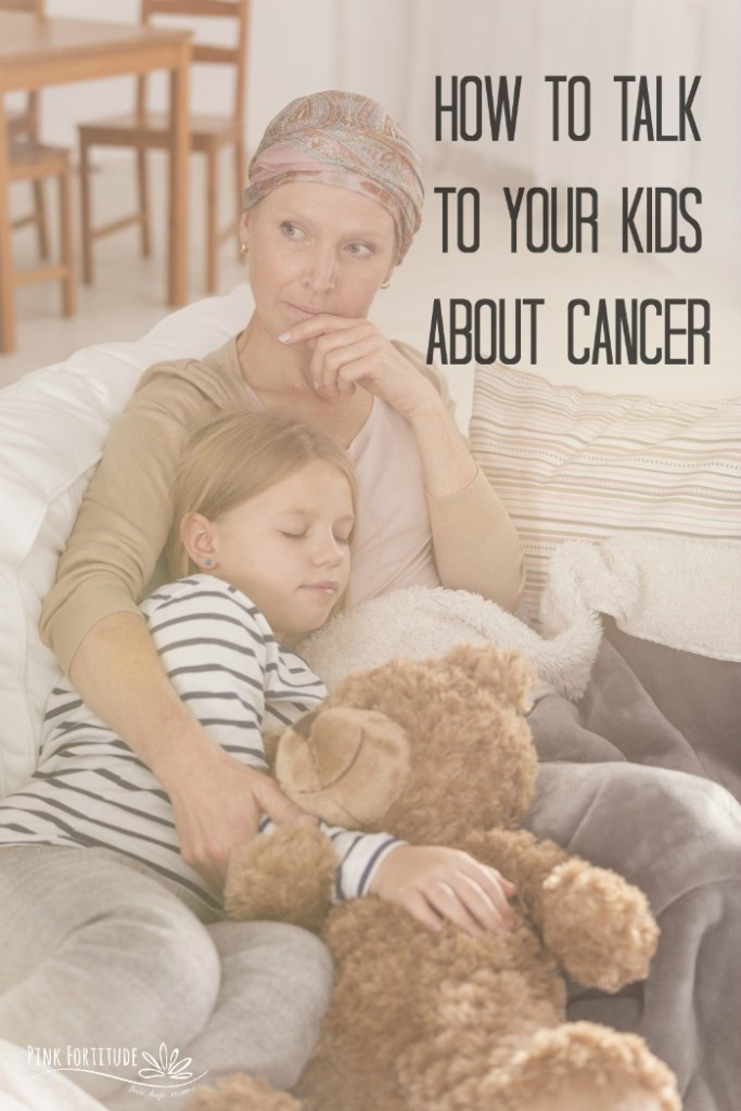 If you are reading this, it's probably for a very personal reason that cancer has affected you or a loved one.  It's difficult to share your cancer diagnosis with your loved ones, but most difficult to talk to your kids about cancer. I'm sharing how we did it, some advice, and resources. #cancer #breastcancer #pinkfortitude