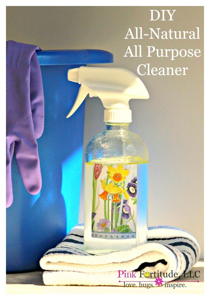 Are you as conflicted as I am about cleaning products?  As a cancer and autoimmune survivor, I wonder and worry about all of the harmful chemicals.  As a germ-a-phobe, there is a certain comfort in knowing that my dearly beloved chemicals are cleaning my home.  Today, the worlds biggest skeptic will share with you a homemade, all-natural, non-toxic all-purpose cleaner.  That works.  And is cheaper than the store-bought alternative.