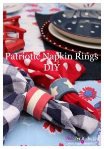 Patriotic DIY Napkin Rings – Trash to Treasure