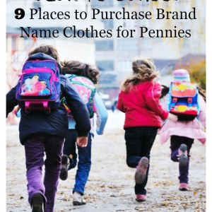 9 Places to Purchase Brand Name Clothes for Pennies – Back to School Survival
