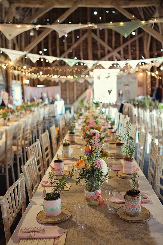 Rustic-Wedding-Reception-Inside-The-Barn