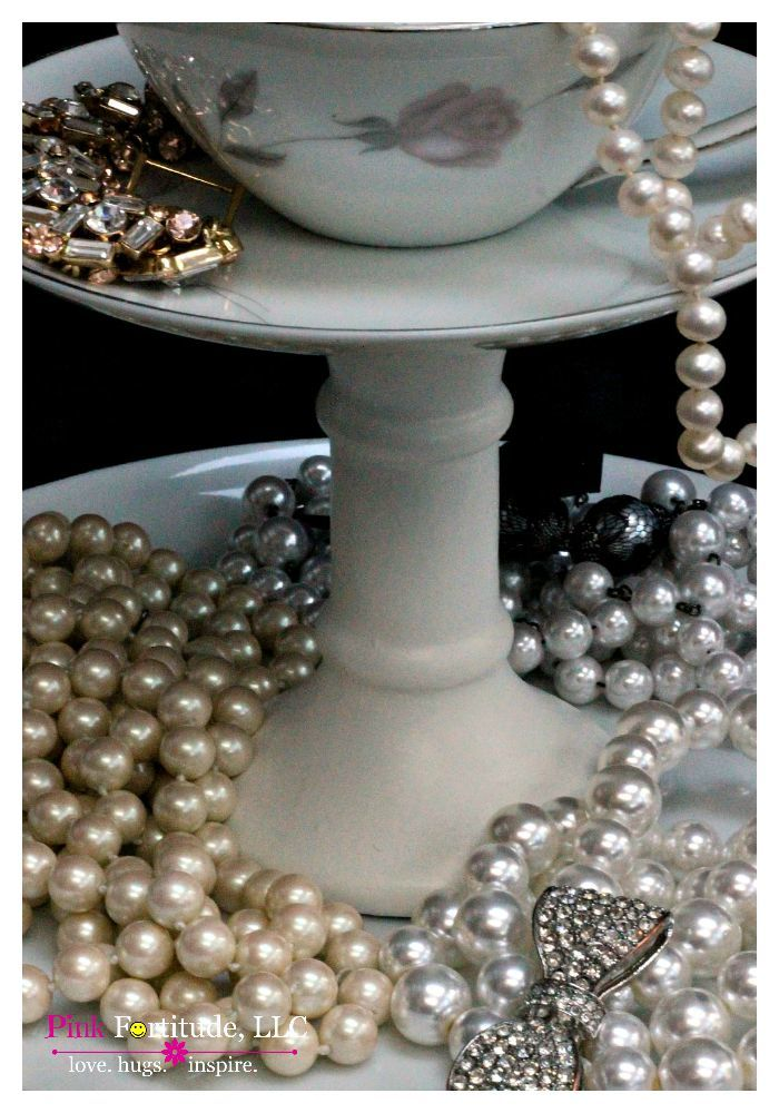 Vintage Upcycled Jewelry Holder by coconutheadsurvivalguide.com