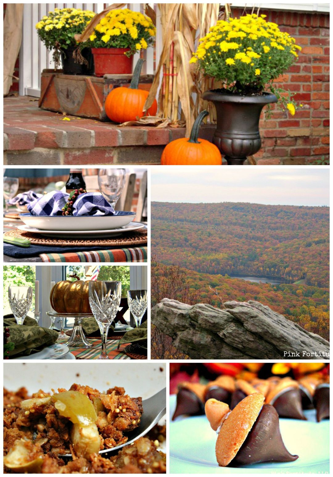 Fall Harvest Home Tour by coconutheadsurvivalguide.com