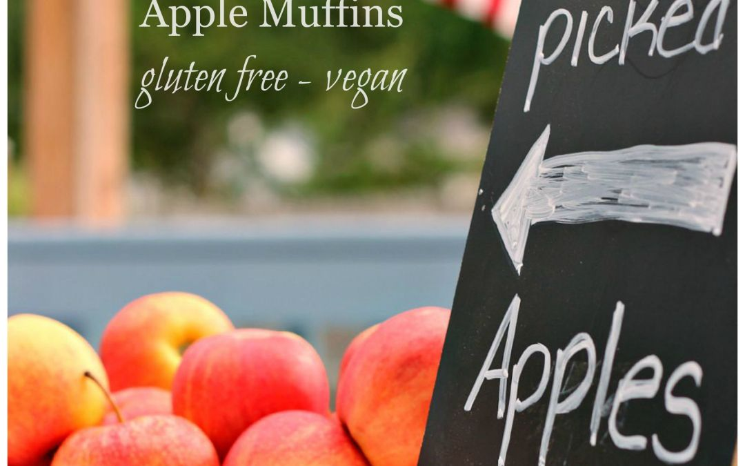 Kid Approved Healthy Apple Muffins – Gluten Free & Vegan