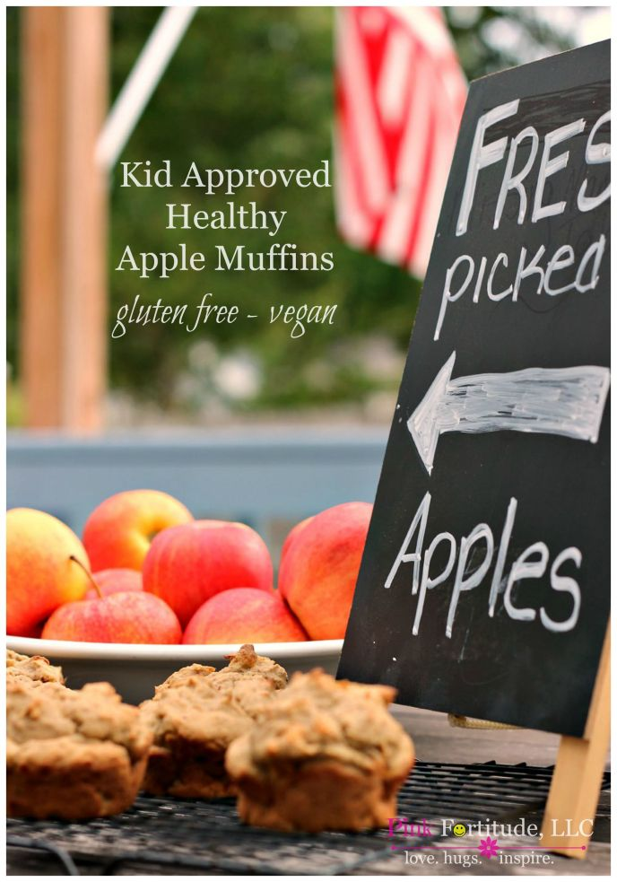 This semi-homemade apple muffins recipe is gluten free, vegan, has limited sugar, and is kid-approved. What a great way to enjoy the tastes of the fall season for breakfast or as an afternoon snack.