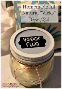 "Homemade All Natural ""Vicks"" Vapor Rub"