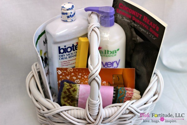 Chemo Care Basket What She Really Needs Pink Fortitude