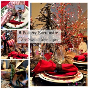 5 Pottery Barntastic Christmas Tablescapes