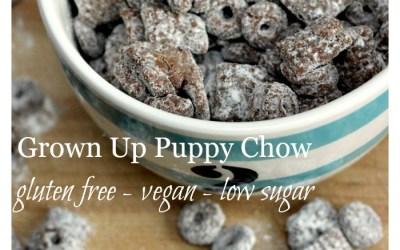 Grown Up Puppy Chow – Gluten Free, Peanut Free & Vegan