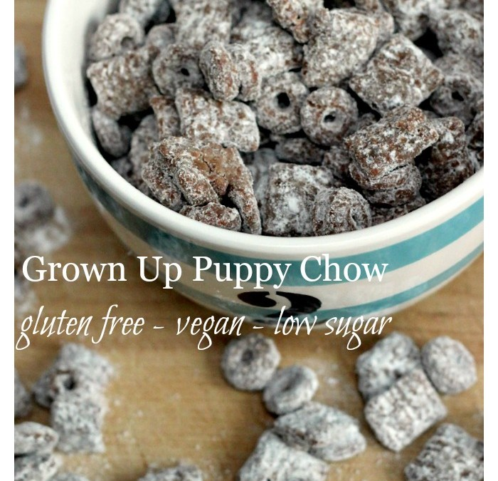 Grown Up Puppy Chow – Gluten Free, Peanut Free & Vegan