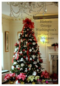 Historic George Washington's River Farm Mansion Christmas Tour