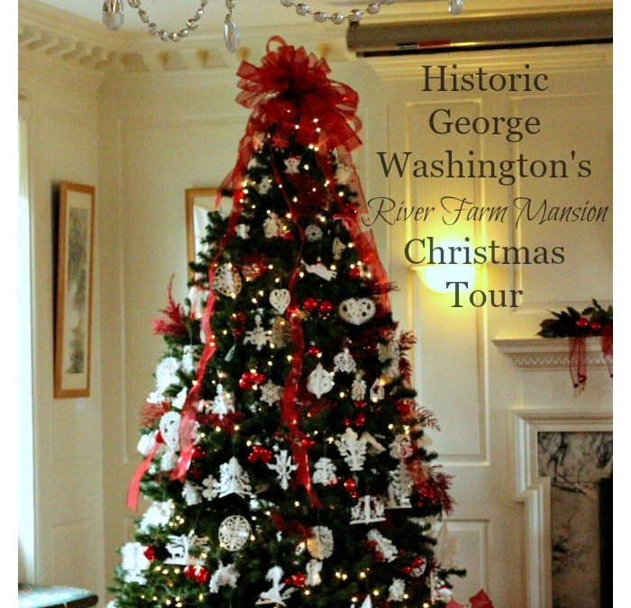Historic George Washington's River Farm Mansion Christmas Tour