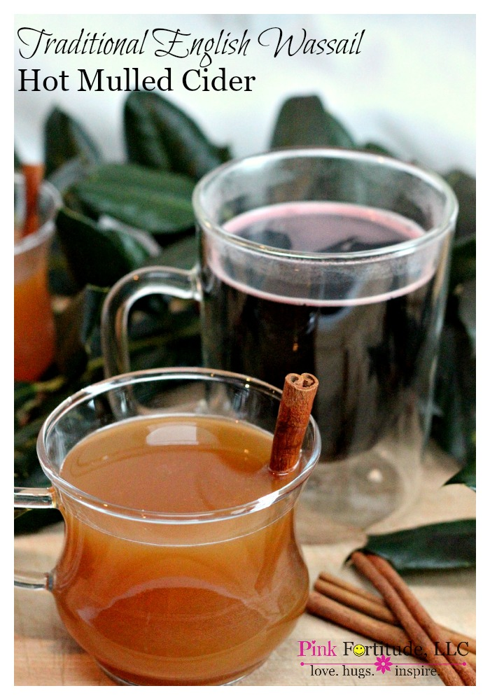What is wassail, and why do people sing about it this time of year?  Alas, my friends, today we are going to learn about the origins of traditional English wassail, and an easy hot mulled cider recipe so you can make it at home.  Caroling off-key is completely optional.