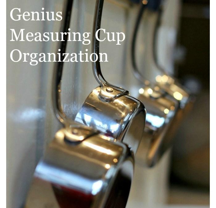 Genius Measuring Cup Organization
