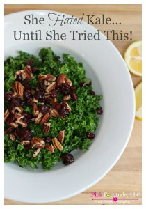She Hated Kale… Until She Tried This Recipe