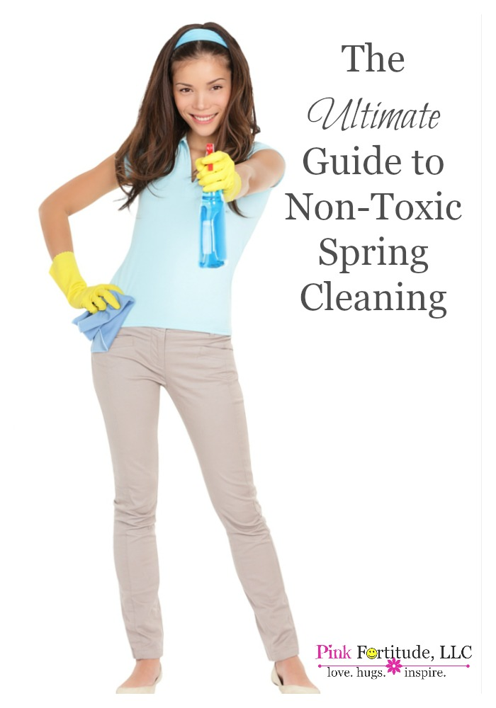 Spring cleaning - do you love it or hate it? I love opening up the windows and letting the warm fresh air in, after a long winter of being cooped up inside. Spring cleaning (or any cleaning for that matter) doesn't have to mean filling your home with harsh, toxic chemicals. You can breathe easy - this is the ultimate guide to your all-natural and non-toxic spring cleaning.