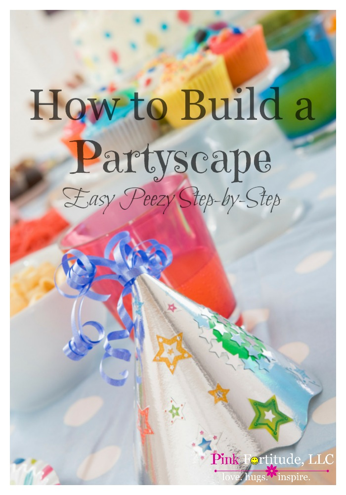 Whether it's for your child's birthday, hosting a baby shower for a friend, or throwing a holiday or seasonal soiree, the partyscape is an integral showpiece of the party. Don't be intimidated by the perfect partyscapes you see on Pinterest. Just follow these easy step-by-step directions to create your own - and to fit your budget!