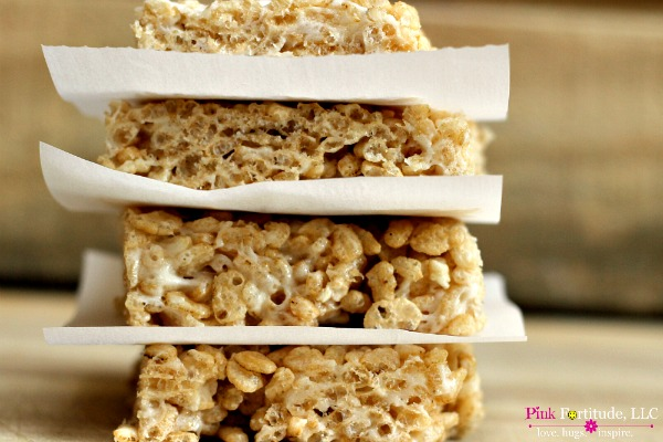Rice Krispies Treats - Gluten Free & Vegan - Pink ...