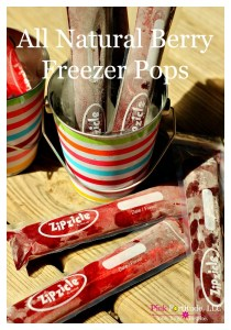 All-Natural Berry Freezer Pops