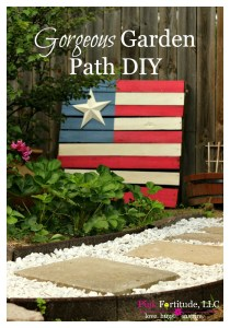 Gorgeous Garden Path DIY