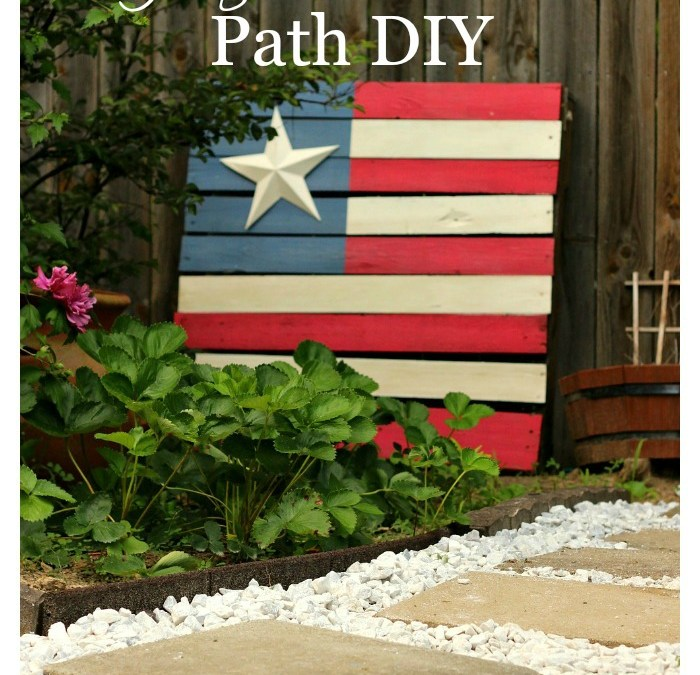 Gorgeous Garden Path DIY
