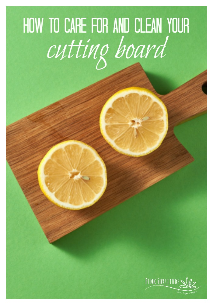 Have you ever wondered how to care for and clean your cutting board? Not to fret - it's easier than you think. AND - you can use everyday all-natural items you already have in your kitchen. Learn how...