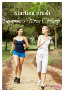 Starting Fresh – September's Fitness Challenge