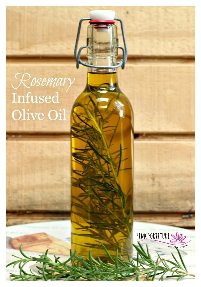Rosemary Infused Olive Oil - Pink Fortitude, LLC
