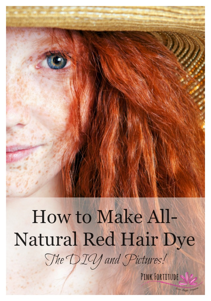 How To Make All Natural Red Hair Dye The Diy And Pictures