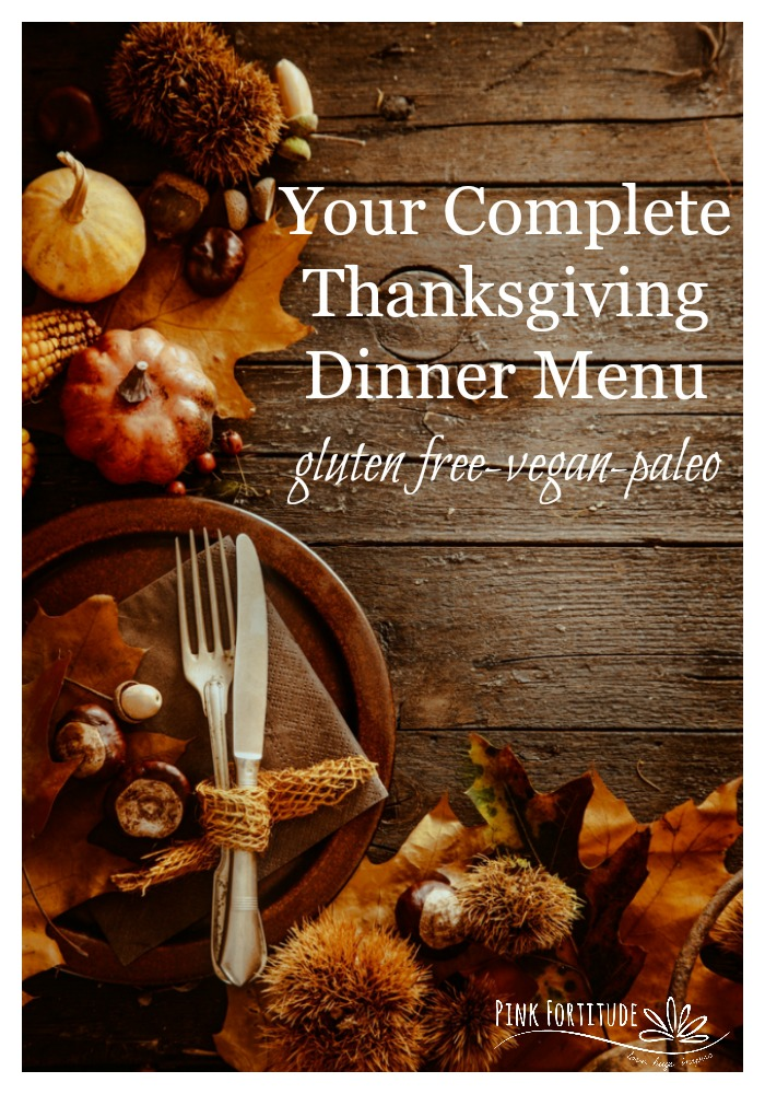 Gluten Free? Vegan? Paleo? Food restrictions? YES! You and your family CAN enjoy your Thanksgiving dinner with normal and traditional dishes that meet a special nutrition protocol AND that everyone will love. I sourced Pinterest for hours looking for the best recipes I could find to help you plan your Thanksgiving dinner. Stuffing? Yup! Pumpkin Pie? Yup! It's all here - everything but the turkey and the dirty dishes in the kitchen sink!