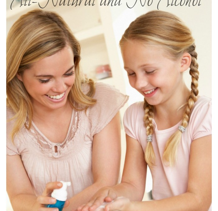 DIY Hand Sanitizer – All Natural and No Alcohol