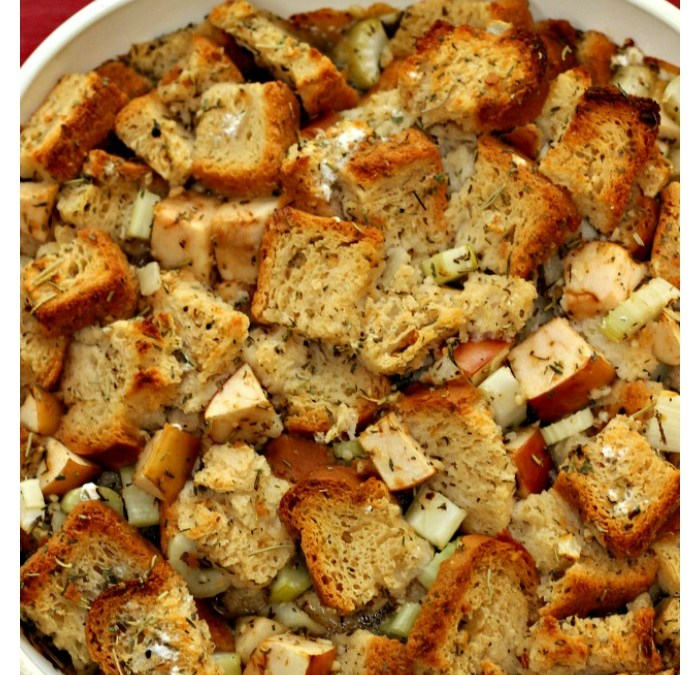 The Best Gluten Free and Vegan Stuffing