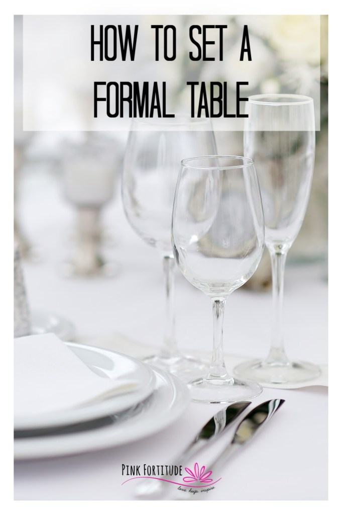 """It's that time of year where we venture into the dining room and stare at an empty table, trying to remember how to set a formal table for holiday guests. Are the forks on the right or left? This step-by-step tutorial will walk you through the basics of a proper place setting. You know me, even when it's """"fancy,"""" I keep it real and practical."""
