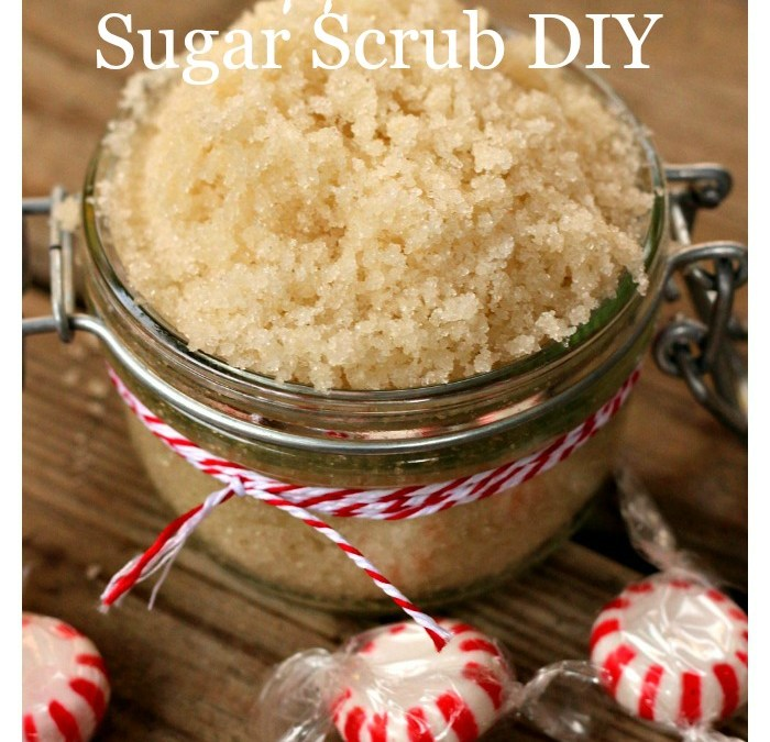 Peppermint Sugar Scrub DIY