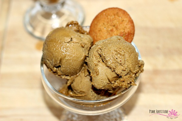 Gingerbread Ice Cream – Paleo and Vegan