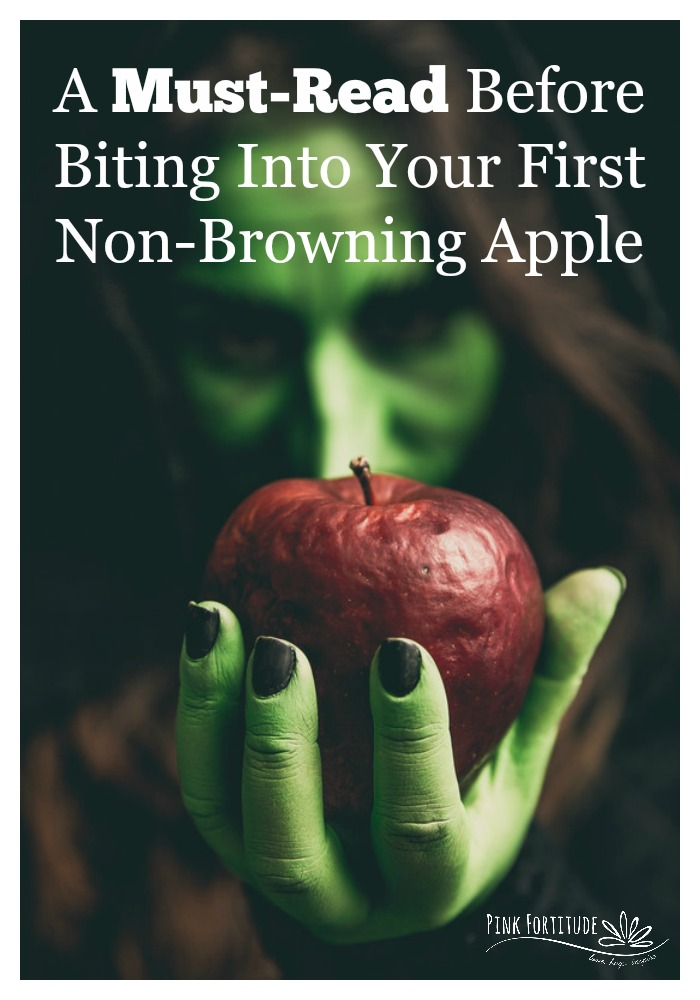 In early 2015, the U.S. Food and Drug Administration approved the genetically modified non-browning apples are safe to come to market. These apples should be available to the public beginning with the 2017 harvest. What an innovative idea! There are some times that I just want a few bites instead of the entire apple, but hate to have it brown and spoil. Won't it be great to have an apple that doesn't brown that you can slice and eat it any time you want? While a great idea in theory, there is a lot of scientific evidence that not only proves otherwise, but still leaves a lot of unanswered questions. Here is what you need to know before biting into your first non-browning apple.
