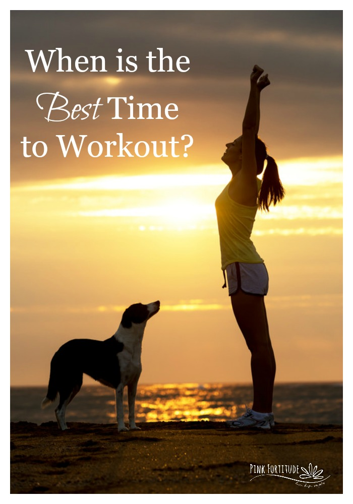As a health and fitness coach I get asked this question often. When is the best time to work out? My answer - it depends on your goals and it depends on what kind of person you are when it comes to your sleep habits. Here's what you need to know.