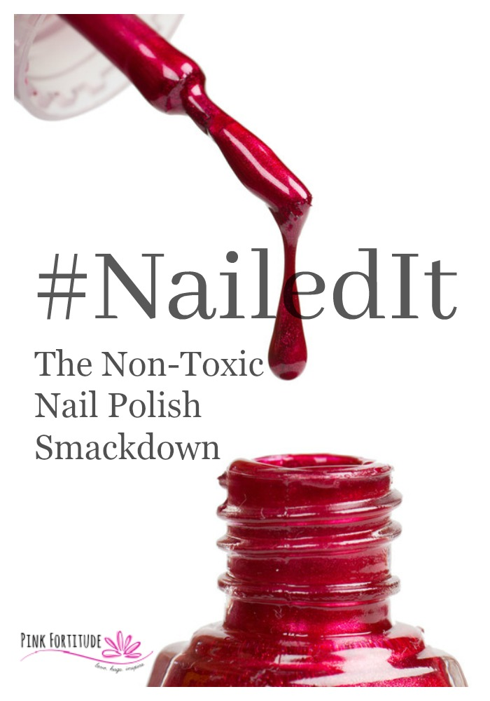 It's beginning to look a lot like summer and that means it's time to ensure your toe nails are sandal worthy. You may be curious about non-toxic nail polishes - are they really non-toxic? Do they last as long as traditional nail polishes? Which ones are the best? Grab a front row seat my friends, to the non-toxic nail polish smackdown. Ten nail polishes go toe to toe. See which ones #nailedit.