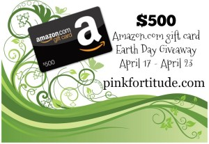 $500 Earth Day Giveaway