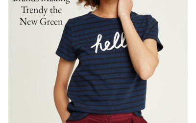 12 Eco-Friendly Clothing Brands Making Trendy the New Green