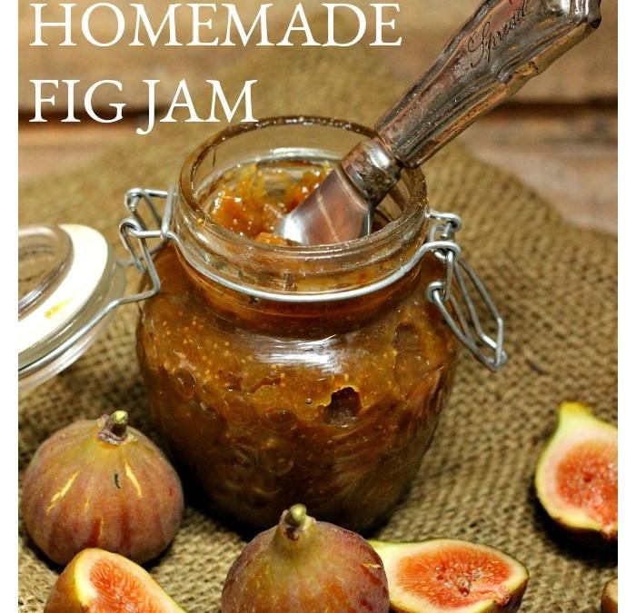 Seriously Delicious Homemade Fig Jam