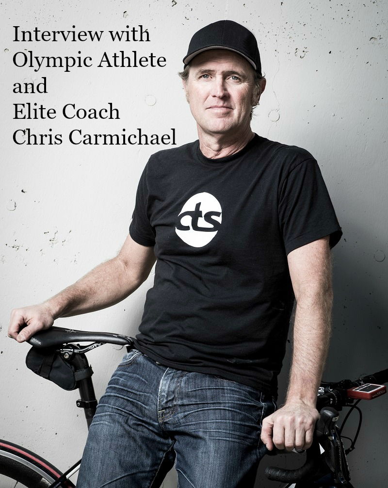 "Olympic Athlete. Elite cyclist. New York Times best selling author. Coach of the Year. John F. Kennedy Laureate Award recipient. US Bicycling Hall of Fame Inductee.  USA Cycling Lifetime Achievement Award recipient. He coached Lance Armstrong. He runs a multi-million dollar coaching business with over 50 employees. He was a pioneer in online training and coaching. At the end of the day, he's a father of three and a regular guy. And super humble. When I reached out to Chris Carmichael, I asked him if he remembered me and if he would have the time to be interviewed. His immediate response was, ""Of course!"" Let me take you behind the scenes with a one-on-one interview with Chris Carmichael."